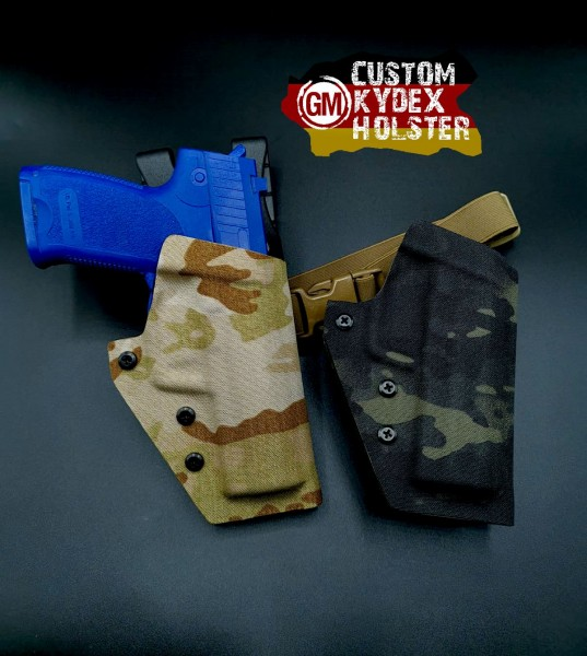 Cordura Mod für GM OWB Custom Kydex Holster Multi Mount